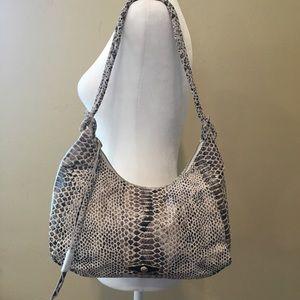 Elliott Lucia snakeskin shoulder bag